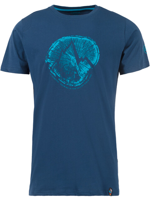 La Sportiva Cross Section - T-shirt manches courtes Homme - bleu